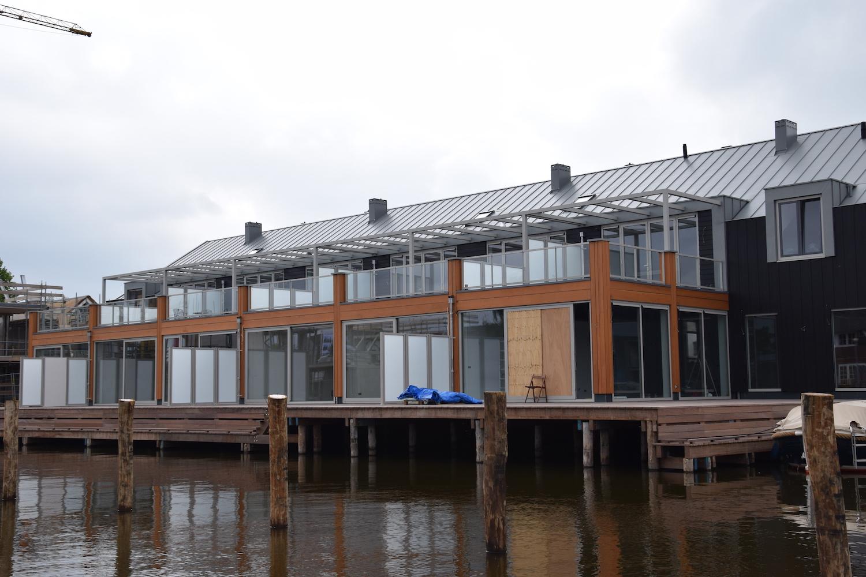Aluminium Pergola nieuwbouw project